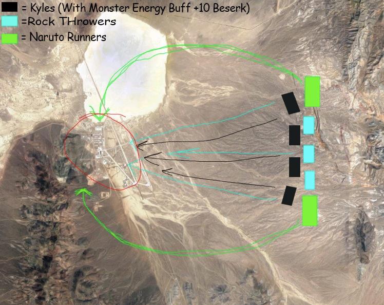 Diagram for Area 51 Raid Event