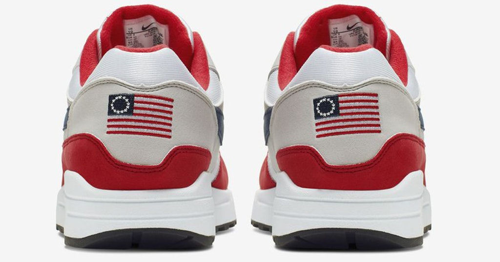 betsy ross flag sneakers