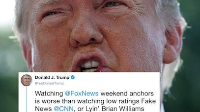 trump fox news rage
