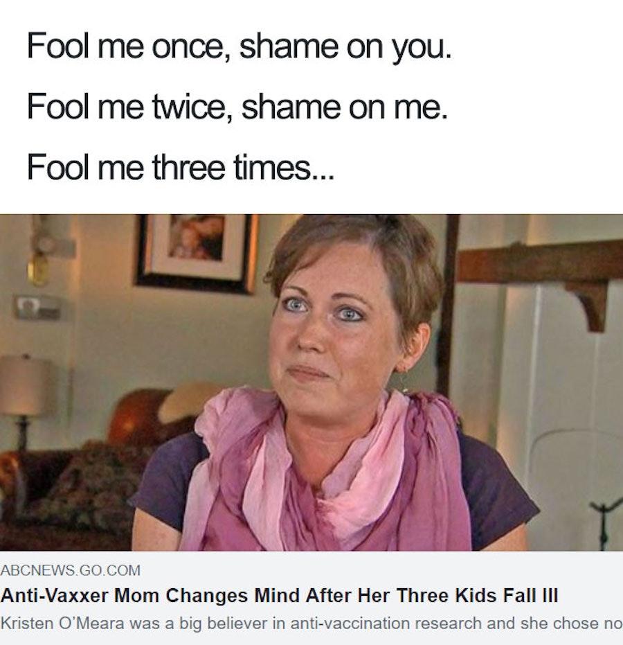 antivaxx meme