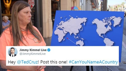 Jimmy Kimmel Can You Name A Country segment for non-Bernie Sanders supporters