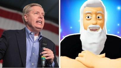 Lindsey Graham and God