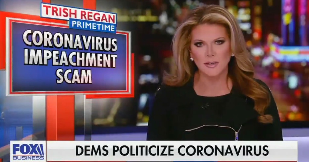 Trish Regan on her Fox Business segment