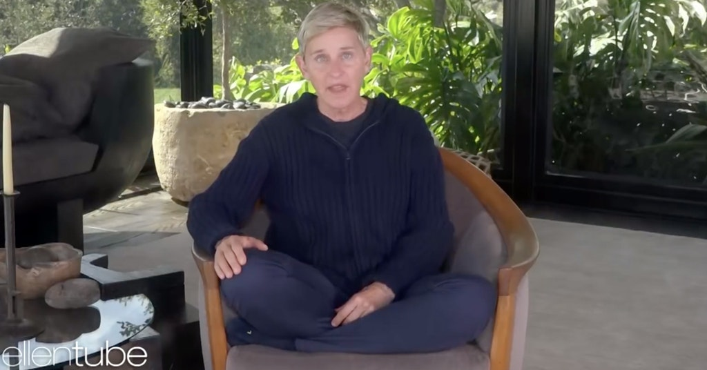 Ellen DeGeneres quarantine jail
