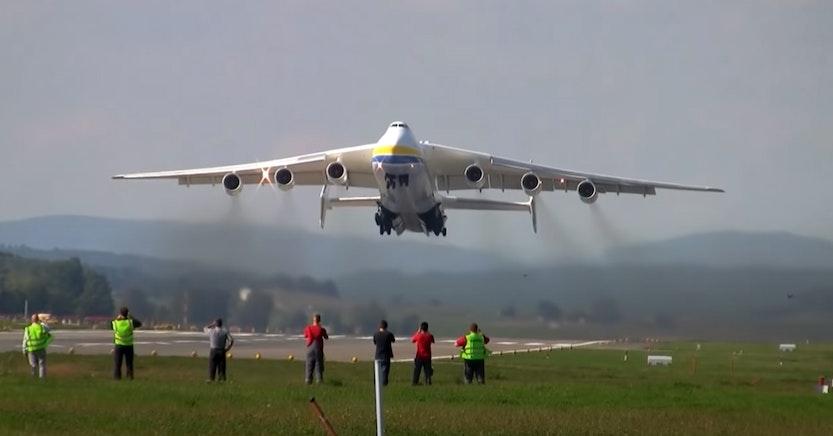 The Antonov AN-225 Mriya