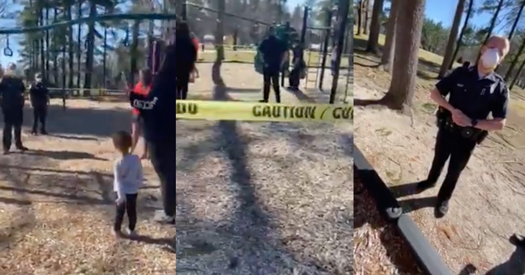 concord new hampshire parents cough on police, playground concord cough on cops