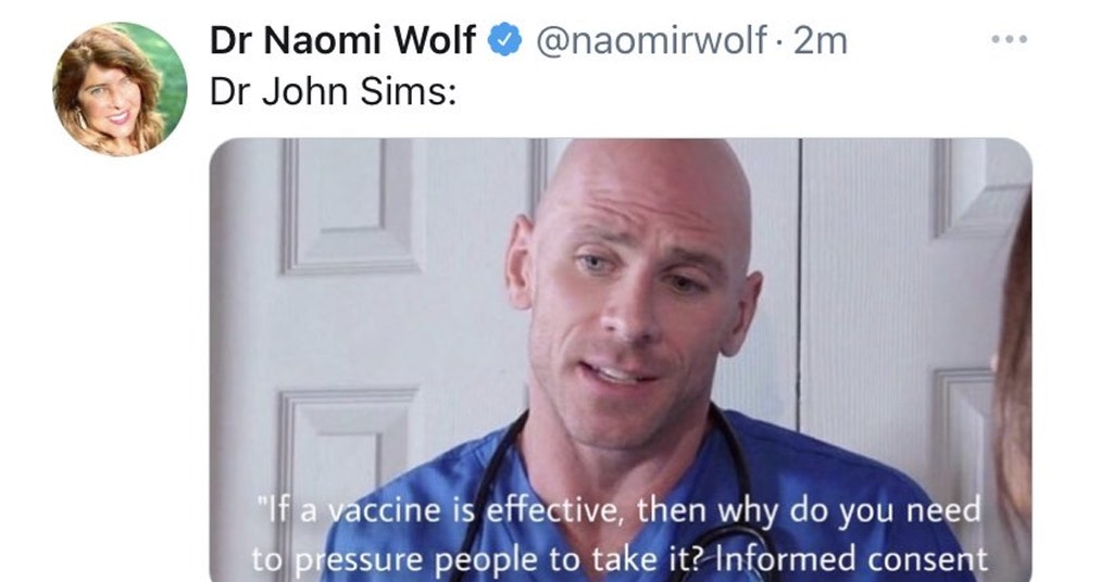 naomi wolf doctor, naomi wolf porn doctor, naomi wolf fake quote doctor
