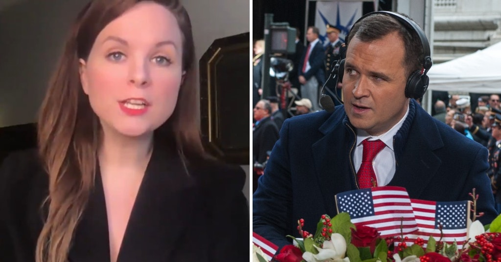 Blaire Eskine doing Ted Cruz's communications director and Greg Kelly on Fox News