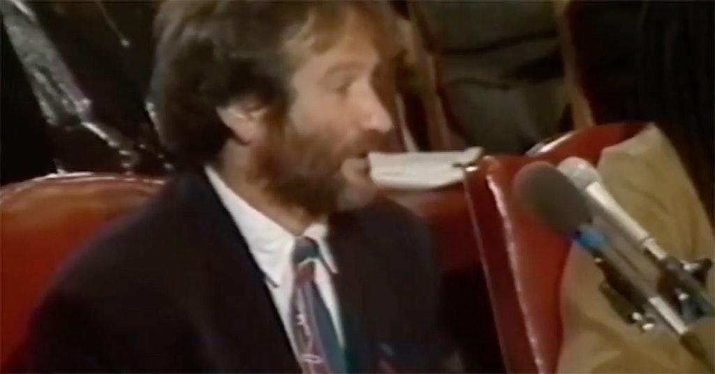 robin williams homelessness speech us senate testimony
