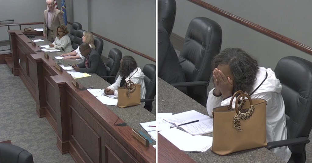 Tarrant, Alabama city council meeting with councilman Tommy Bryant calling councilwoman Veronica Freeman the n-word and her crying