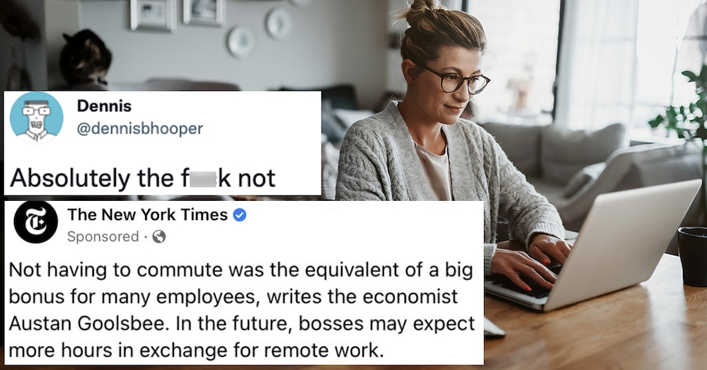 remote work oped nyt