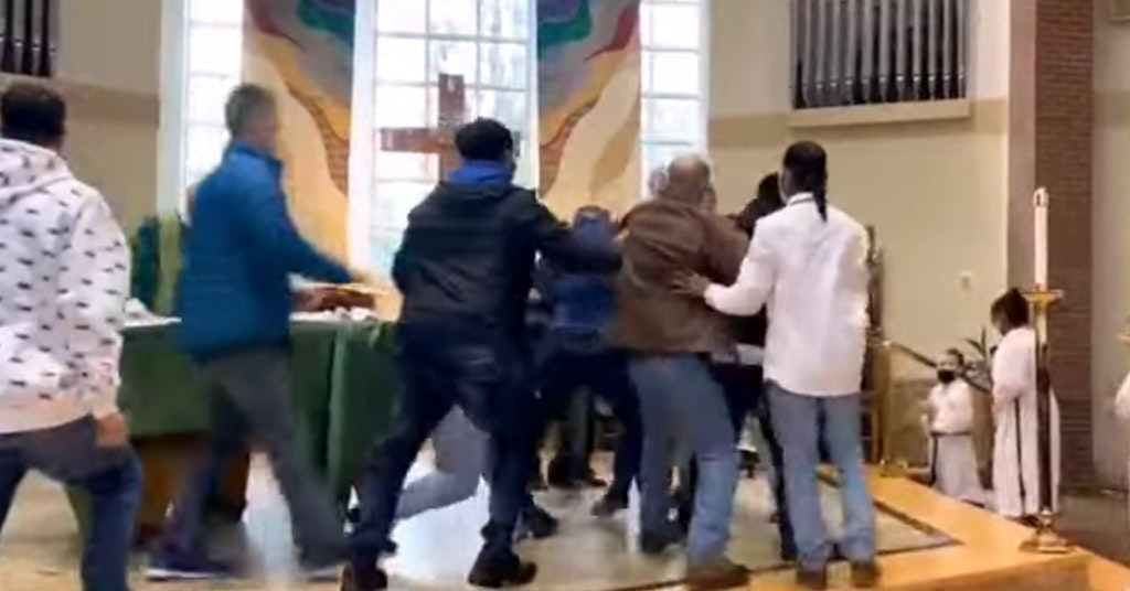 church brawl lakewood washington
