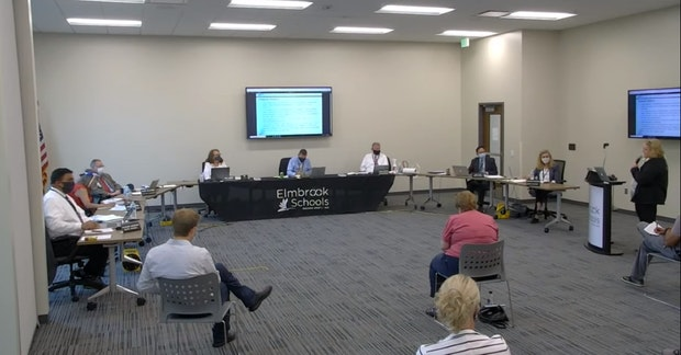 Elmbrook Board of Education Meeting