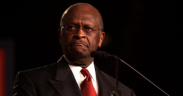 Herman Cain speaking at CPAC