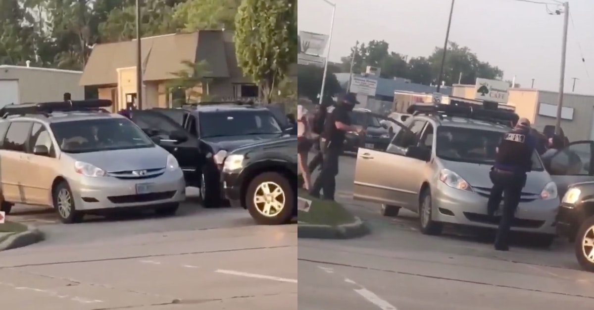 Kenosha Law Enforcement Accused Of Throwing Activists Into Unmarked Police Cars