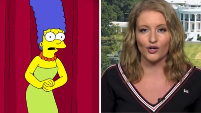 Marge Simpson and Jenna Ellis
