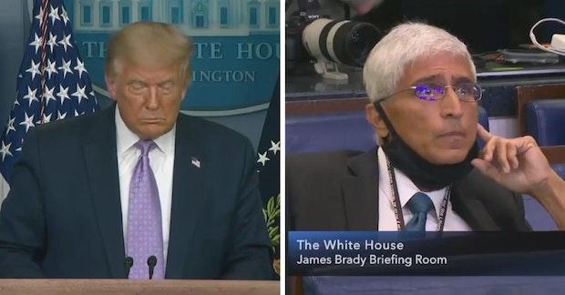 Donald Trump and Shirish (S.V.) Dáte