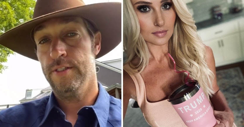 Jay Cutler and Tomi Lahren